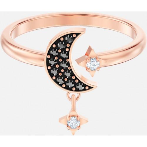 Кольцо Swarovski Symbolic Moon Gold